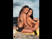 ANETTA KEYS & DIVINITY LOVE - HARD SET - SUNSET BEACH of LENKA G video
