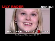 Casting of LILY RADER video