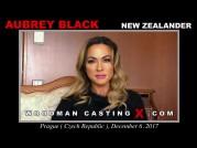 Casting of AUBREY BLACK video