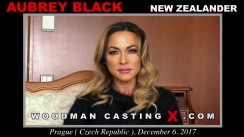 Casting of AUBREY BLACK video