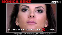 Download Monica Benz casting video files. A Czech girl, Monica Benz will have sex with Pierre Woodman.