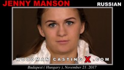 Casting of JENNY MANSON video