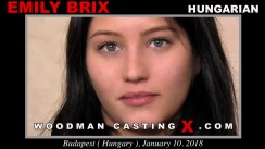 Casting of EMILY BRIX video