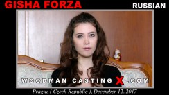 Access Gisha Forza casting in streaming. A Russian girl, Gisha Forza will have sex with Pierre Woodman.