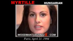 Casting of MYRILLE video
