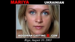 Download Mariya casting video files. Pierre Woodman undress Mariya, a Ukrainian girl.