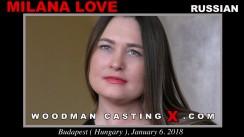 Casting of MILANA LOVE video