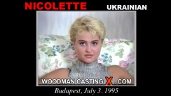Watch Nicolette first XXX video. Pierre Woodman undress Nicolette, a Ukrainian girl.