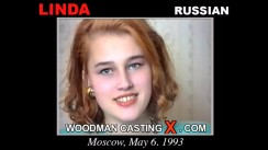 Watch Linda first XXX video. A Russian girl, Linda will have sex with Pierre Woodman.