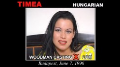 Look at Timea getting her porn audition. Erotic meeting between Pierre Woodman and Timea, a Hungarian girl.