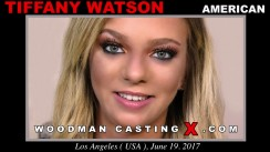 Look at Tiffany Watson getting her porn audition. Erotic meeting between Pierre Woodman and Tiffany Watson, a American girl.