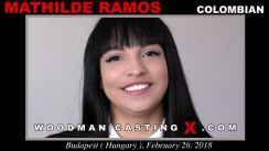 Check out this video of Mathilde Ramos having an audition. Pierre Woodman fuck Mathilde Ramos, Colombian girl, in this video.