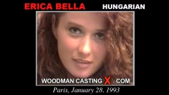 Access Erica Bella casting in streaming. Pierre Woodman undress Erica Bella, a Hungarian girl.