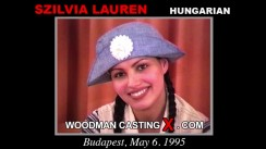 Casting of SZILVIA LAUREN video