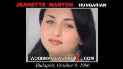 Watch our casting video of Jeanette Marton. Erotic meeting between Pierre Woodman and Jeanette Marton, a Hungarian girl.