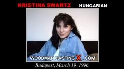 Casting of KRISTINA SWARTZ video