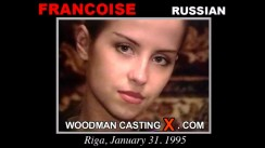 Watch Francoise first XXX video. Pierre Woodman undress Francoise, a Russian girl.