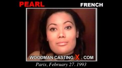 Access Pearl casting in streaming. Pierre Woodman undress Pearl, a French girl.