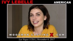 Watch our casting video of Ivy Lebelle. Erotic meeting between Pierre Woodman and Ivy Lebelle, a American girl.