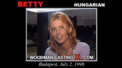 Casting of BETTY GABOR video