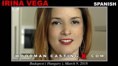 Watch Irina Vega first XXX video. Pierre Woodman undress Irina Vega, a Spanish girl.
