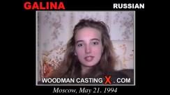 Casting of GALINA video
