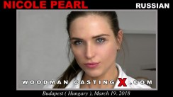 Watch Nicole Pearl first XXX video. Pierre Woodman undress Nicole Pearl, a Russian girl.