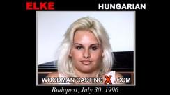 Download Elke casting video files. Pierre Woodman undress Elke, a Hungarian girl.