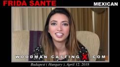 Casting of FRIDA SANTE video