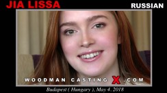 Access Jia Lissa casting in streaming. Pierre Woodman undress Jia Lissa, a Russian girl.