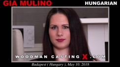 Watch our casting video of Gia Mulino. Erotic meeting between Pierre Woodman and Gia Mulino, a Hungarian girl.