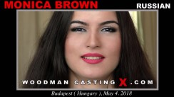 Casting of MONICA BROWN video