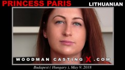 Access Princess Paris casting in streaming. Pierre Woodman undress Princess Paris, a Lithuanian girl.