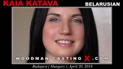 Look at Kaia Katava getting her porn audition. Pierre Woodman fuck Kaia Katava, Belarusian girl, in this video.