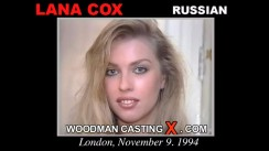 Casting of LANA COX video
