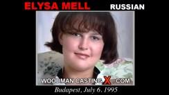 Casting of ELYSA MELL video