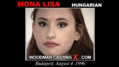 Check out this video of Mona Lisa having an audition. Erotic meeting between Pierre Woodman and Mona Lisa, a Hungarian girl.