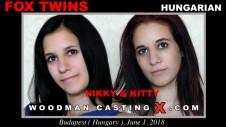 Sex Castings Fox twins
