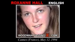 Casting of ROXANNE HALL video