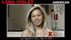 Check out this video of Lana Violet having an audition. Erotic meeting between Pierre Woodman and Lana Violet, a American girl.