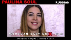 Check out this video of Paulina Soul having an audition. Pierre Woodman fuck Paulina Soul, Russian girl, in this video.