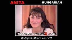 Casting of ANITA GYONGY video