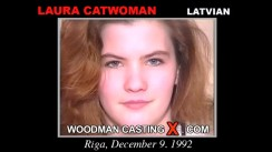 Casting of LAURA CATWOMAN video