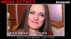 Look at Nena Sytnyy getting her porn audition. Pierre Woodman fuck Nena Sytnyy, Russian girl, in this video.