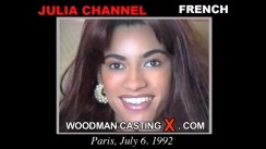 Casting of JULIA CHANNEL video