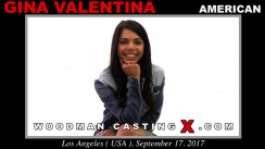 Look at Gina Valentina getting her porn audition. Erotic meeting between Pierre Woodman and Gina Valentina, a American girl.