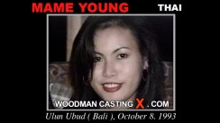 Casting of MAME YOUN video