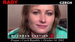 Casting of RADY video