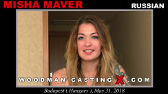 Download Misha Maver casting video files. A Russian girl, Misha Maver will have sex with Pierre Woodman.
