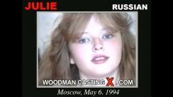 Casting of JULIE video